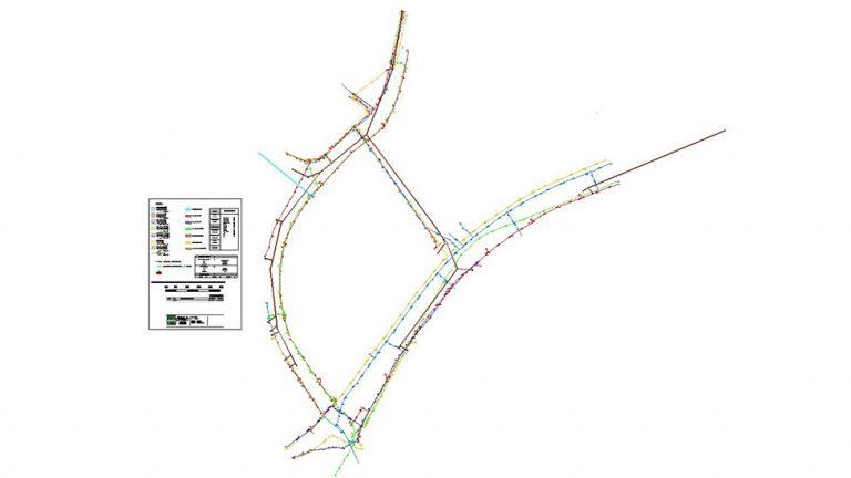 plan de la détection de réseaux SIBA