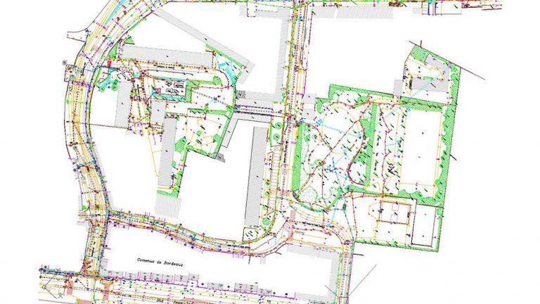 plan de détection de réseaux dans Bordeaux
