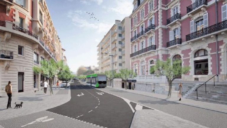 projet de tram à biarritz